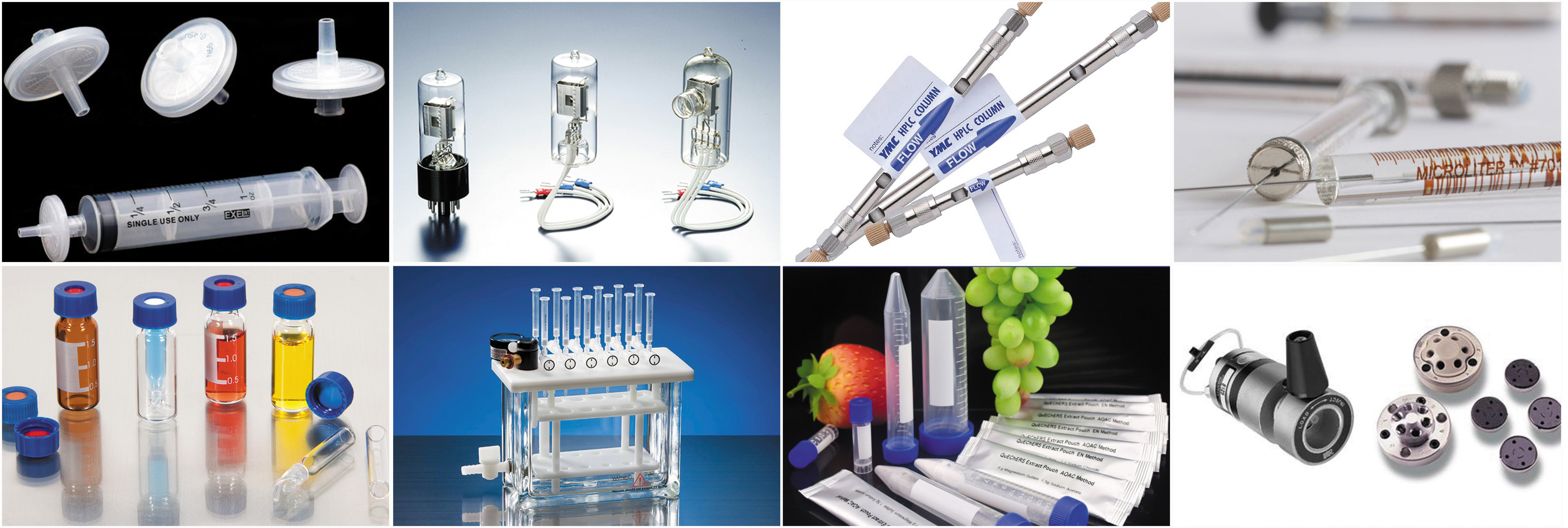 T&T is a distributor of chromatography and  mass spectrometry supplies and accessories